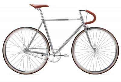 fixie single speed Creme vinyl solo gray