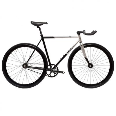 fixie single speed state bicycle contender 2 silver