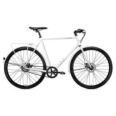 Vélo Creme Tempo Solo White 8 vitesses