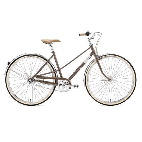 Creme - Caferacer Lady Uno Warm Gray - 3 vitesses